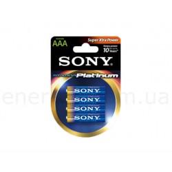 Sony  Platinum AAA