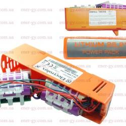 Ремонт замена аккумулятора для пылесоса  Electrolux ZB2E033 25.5v