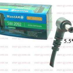 MastAK SW-2092 9V 2000mAh