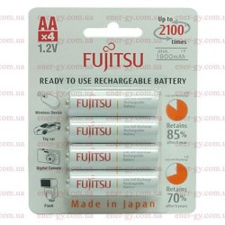 Fujitsu 2000mAh Ready to use