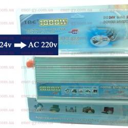 Преобразователь  TBE  1000Watt из 24V в 220V