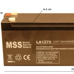 MSS  12V 7AH