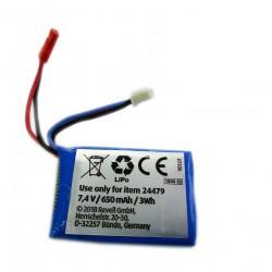 Ремонт перепаковка аккумулятора 7.4V 650mAh 3Wh D32257