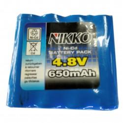 Ремонт перепаковка аккумулятора NIKKO 4.8V 680mAh